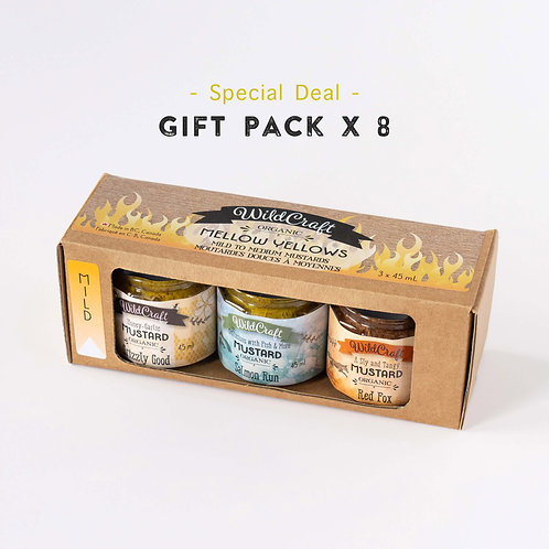 Mellow Yellow Collection - 8x Gift Packs