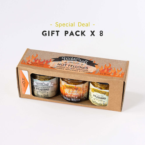 Hot Fellows Collection - 8x Gift Packs