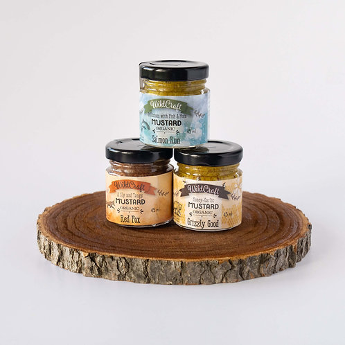 Mellow Yellow Collection - 3x Mixed Mustards