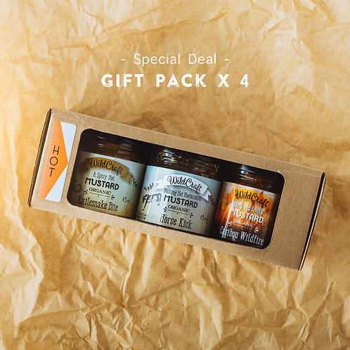 Hot Fellows Collection - 4x Gift Packs