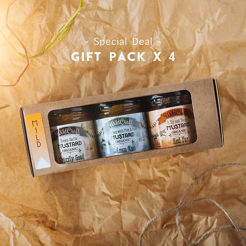 Mellow Yellow Collection - 4x Gift Packs