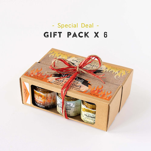 Mustardellos Collection - 6x Double Gift Packs