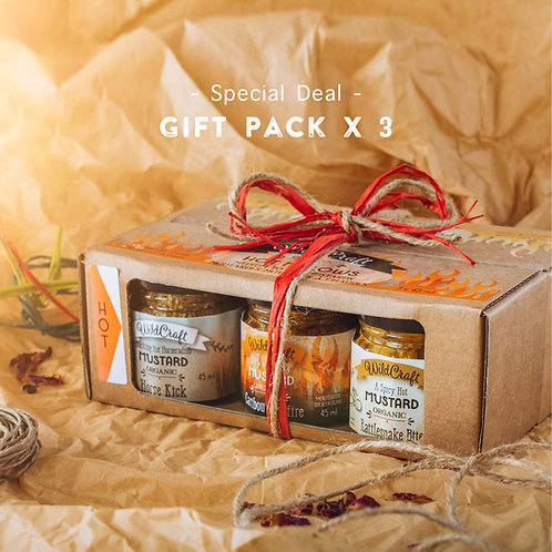 Mustardellos Collection - 3x Double Gift Packs