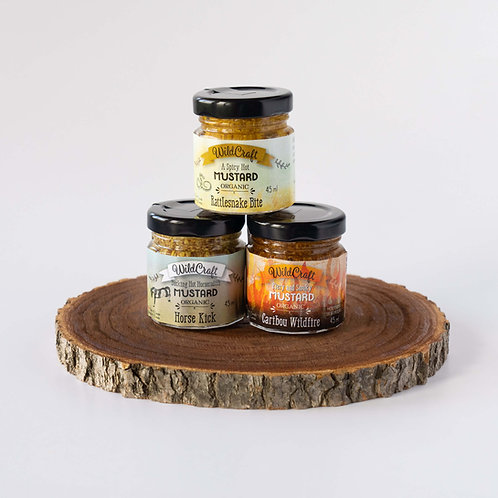 Hot Fellows Collection - 3x Mixed Mustards