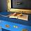 "Thumbnail: Campaign Style desk - Painted in Annie Sloan ""Giverny"""