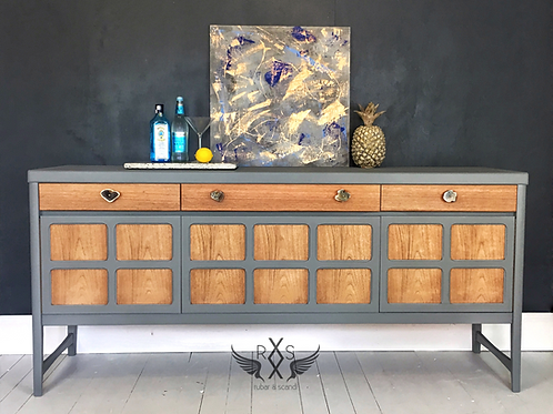 "Nathan Sideboard - Little Greene Paint Co ""Scree"""