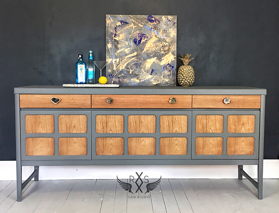 """Nathan Sideboard - Little Greene Paint Co """"Scree"""""""