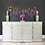 """Thumbnail: Ducal Sideboard - Painted in Farrow & Ball """"Lamp Room Gray"""""""