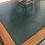 Thumbnail: Coal Black Twin Pedestal Desk
