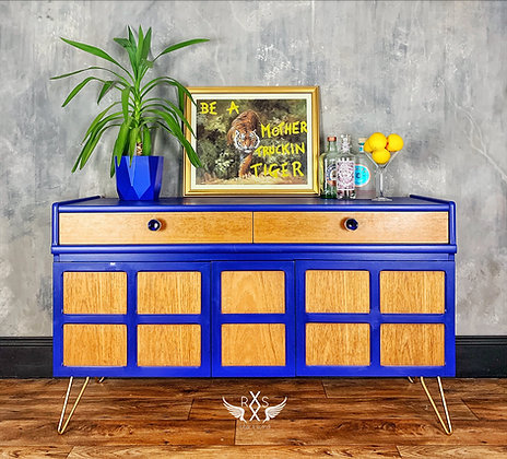 """Small Nathan Sideboard painted in Little Green """"Small"""""""