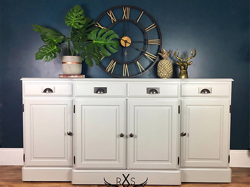 "Ducal Sideboard - Painted in Farrow and Ball ""Lamp Room Gray"""