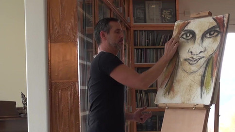 Roger drawing Earth