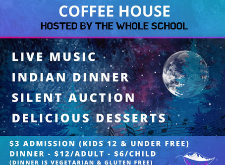 Coffee House - come one, come all