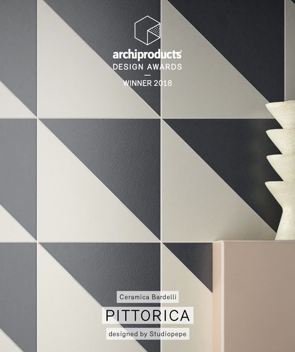 ADA Awards 2018 Ceramica Bardelli Win with Pittorica Ceramic tiles collection