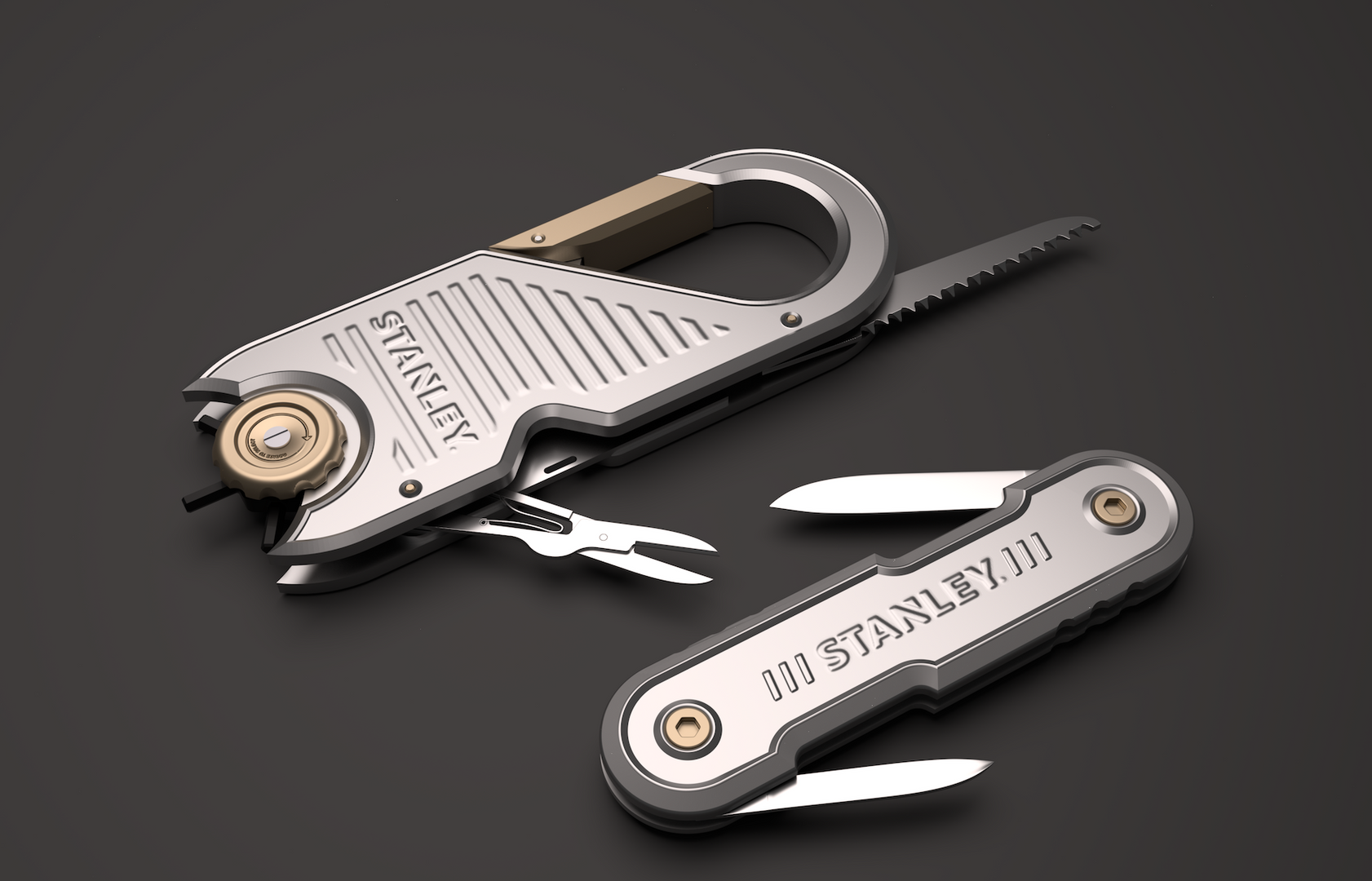 Licensed Multi Tool and pen knife concepts
