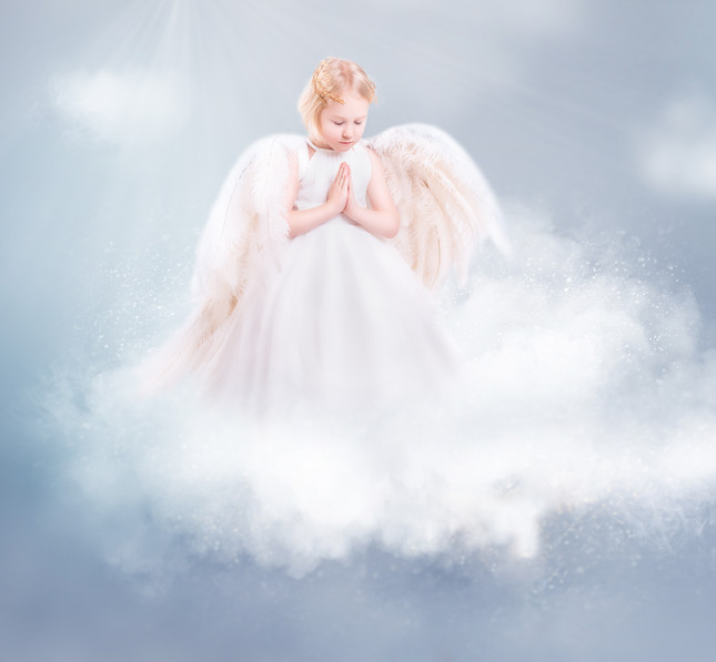Angel Wings Child Photography