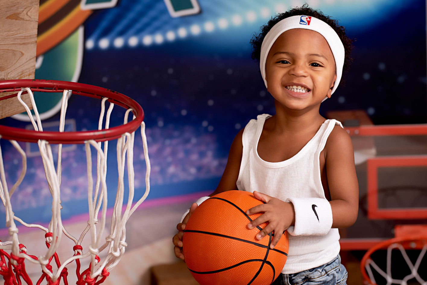 Basketball Player Toddler Picture