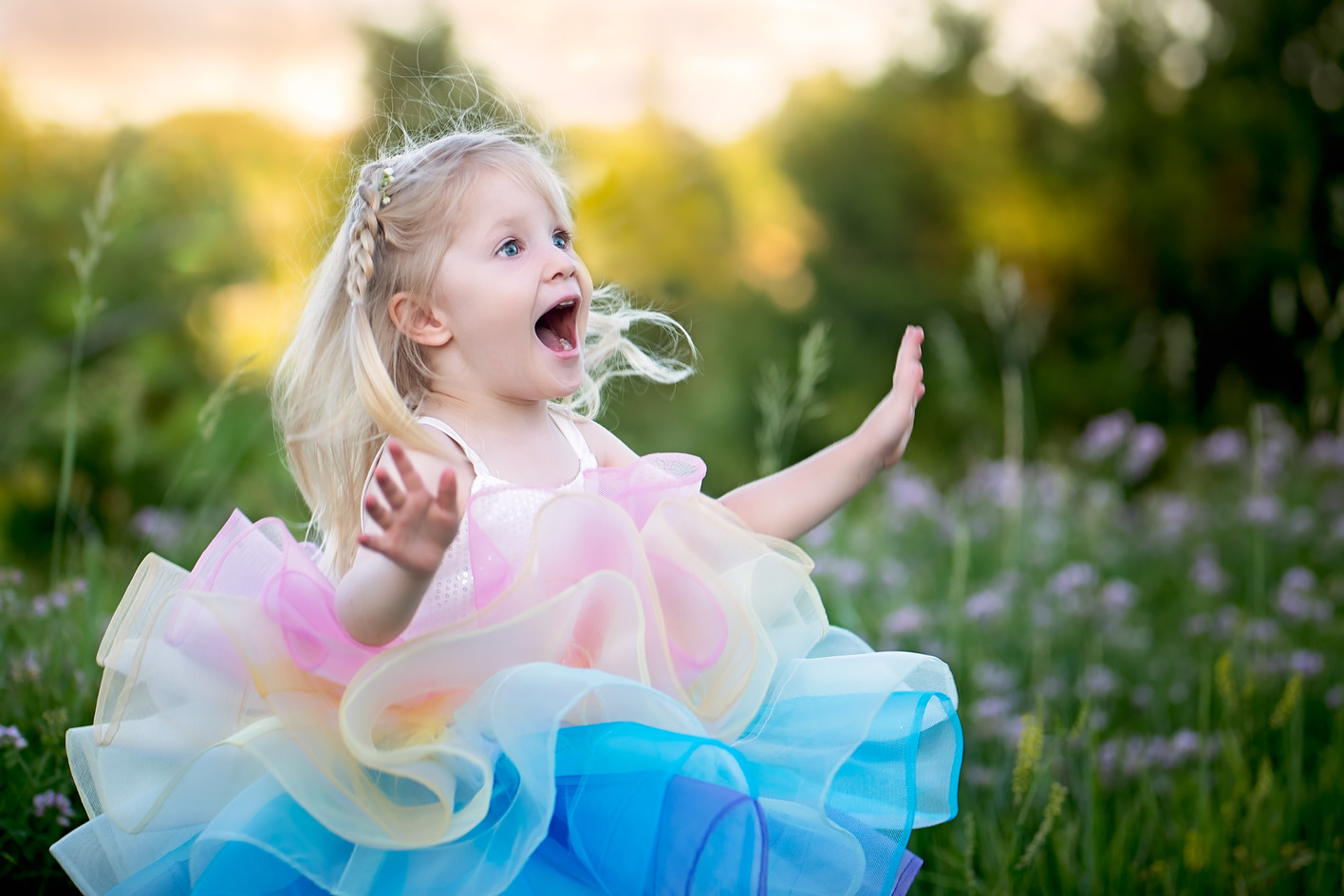 Surprise and Delight of a Child