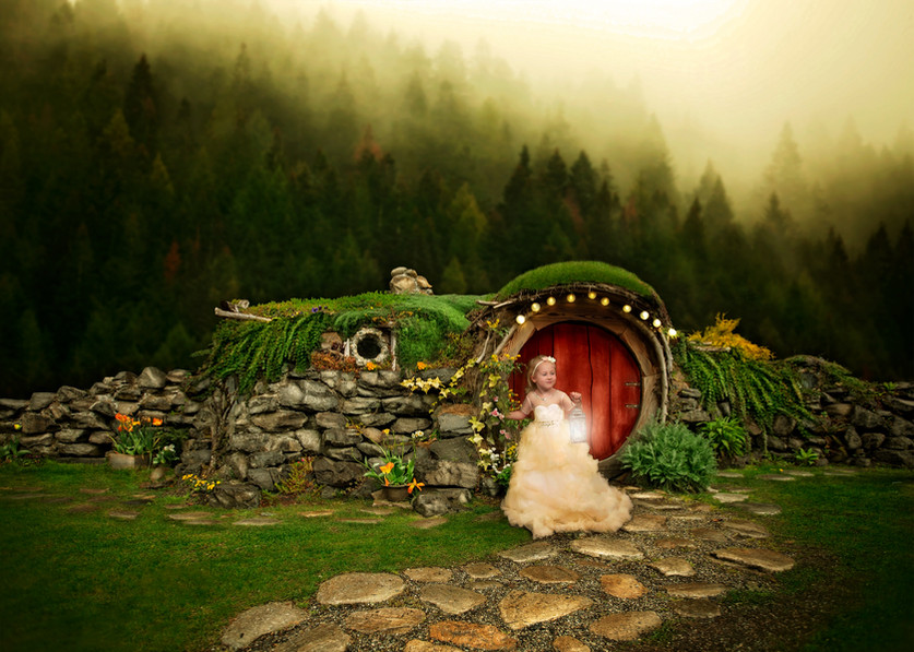 Lord of the Rings hobbit house pictureq