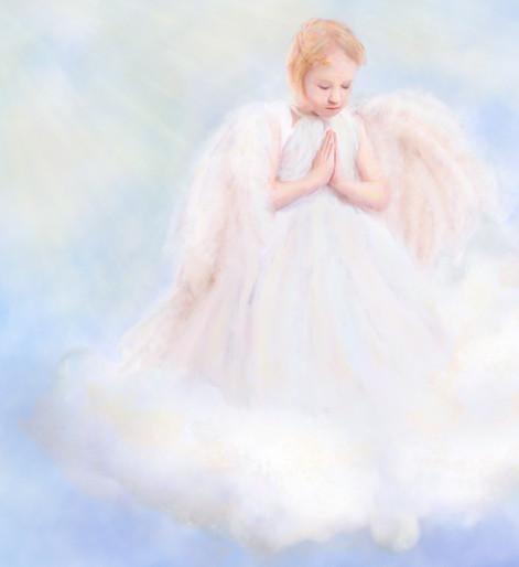 Child Angel Painting