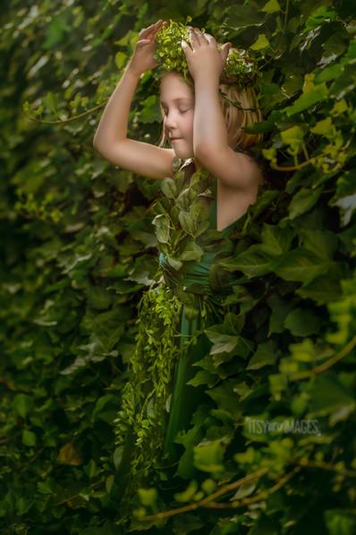 Garden Fairy Children's Photography