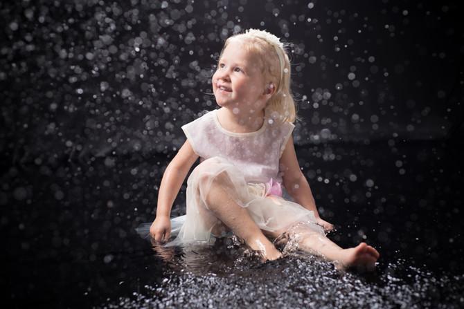 DIY Studio Water Photoshoot