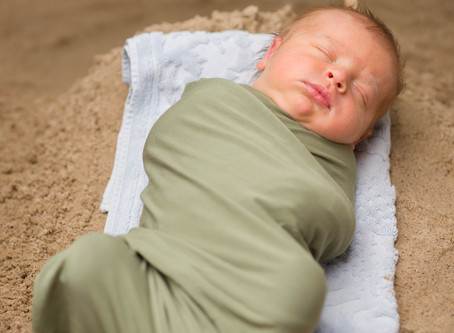 Babies of the Sea: Beach and Boat themed newborn photography