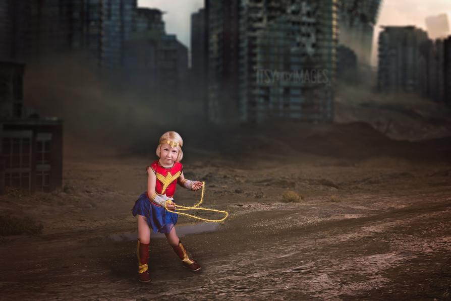 Wonder woman super hero marvel photoshoot