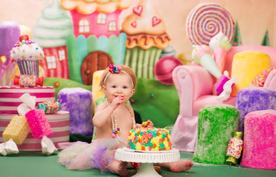 Candy Land Cake Smash