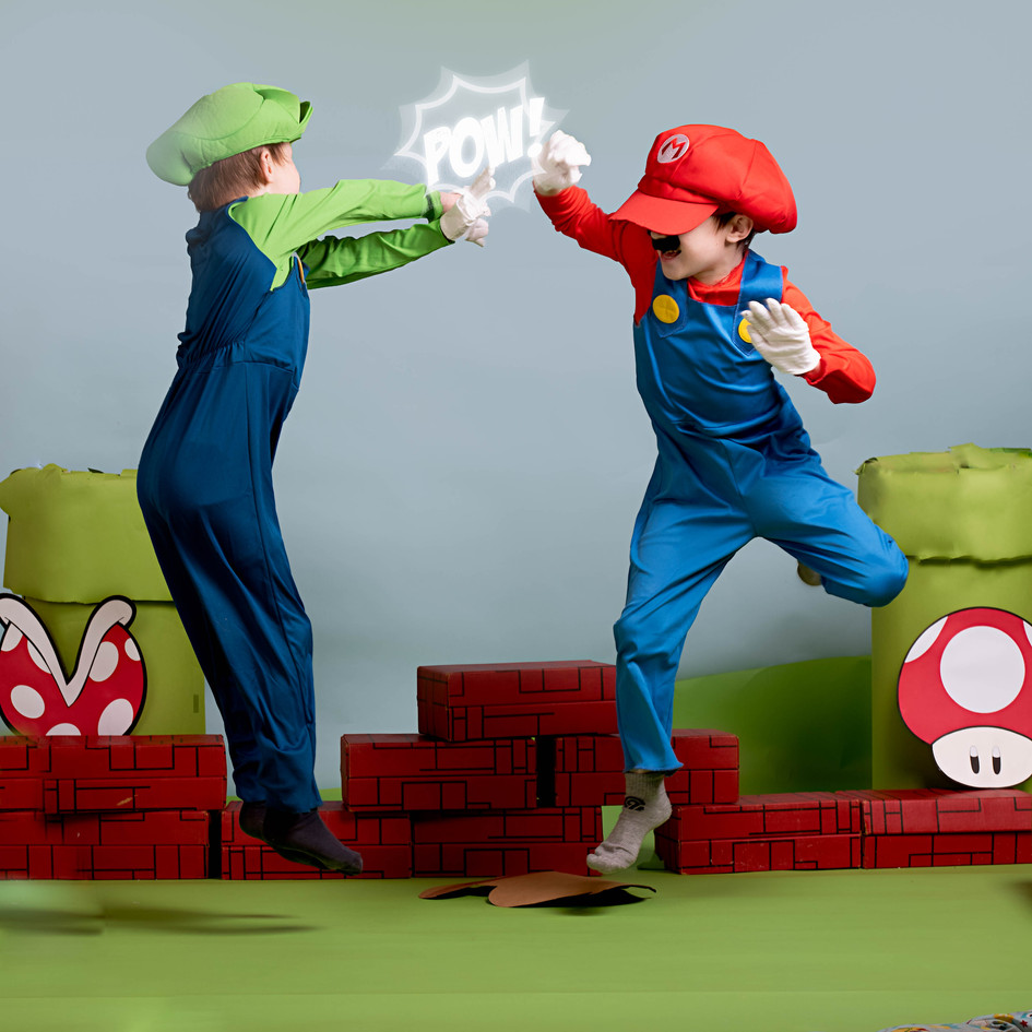 Mario and Luigi Themed Photosession
