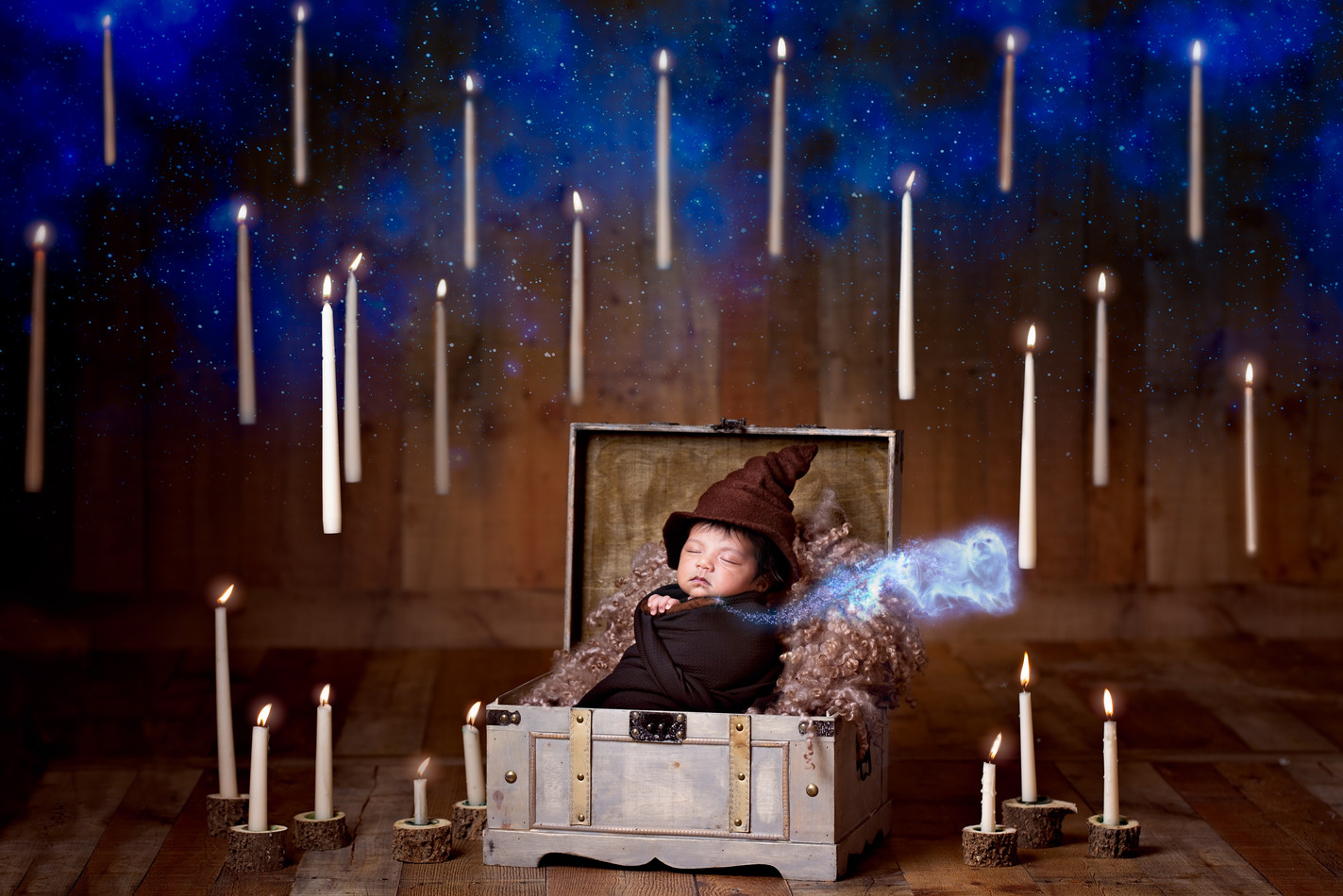 Harry Potter Newborn Photography