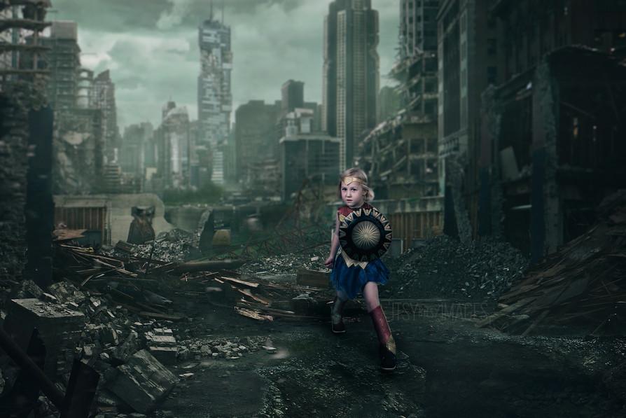 Wonder Woman Children's Photoshoot