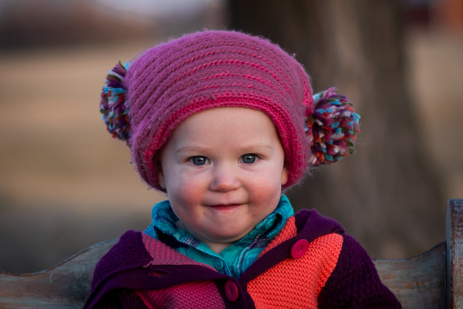 Sweet kid picture with hat