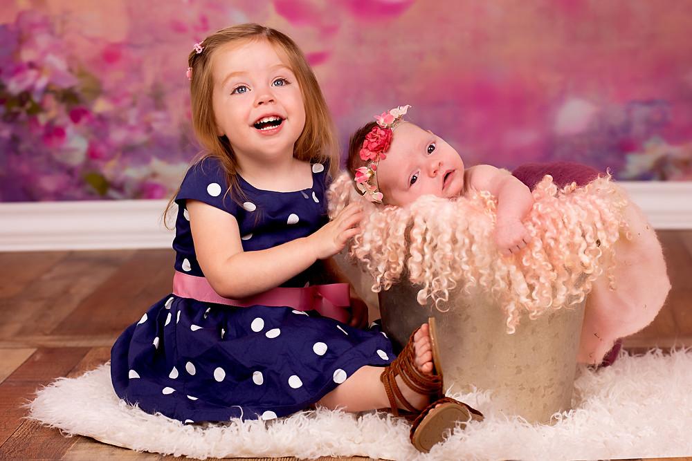 Newborn composite photography with best newborn photographer in Overland Park