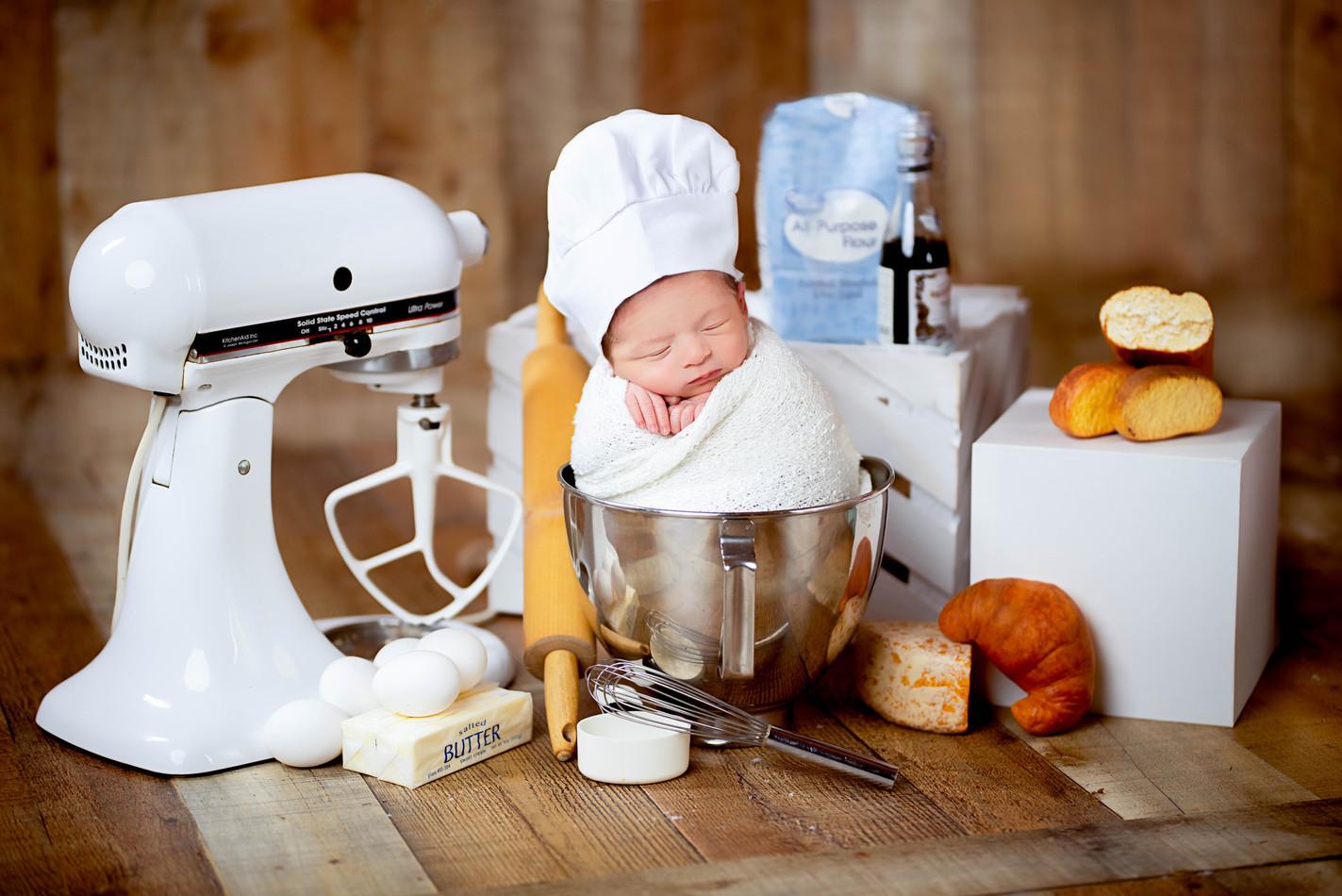 Baby Baker Newborn Photography
