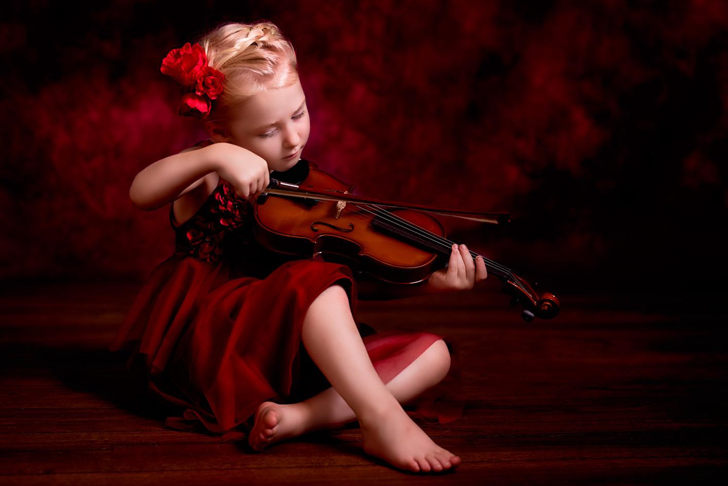 Fine art musical photo