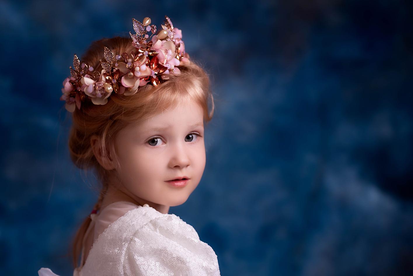 Regal Looking Child Portrait