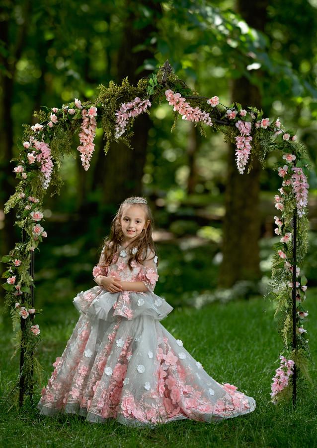 Secret Garden Princess Photo Session