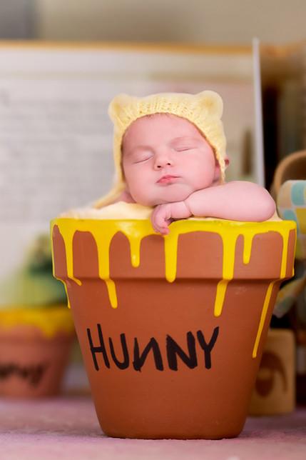 Winnie the Pooh Newborn picture