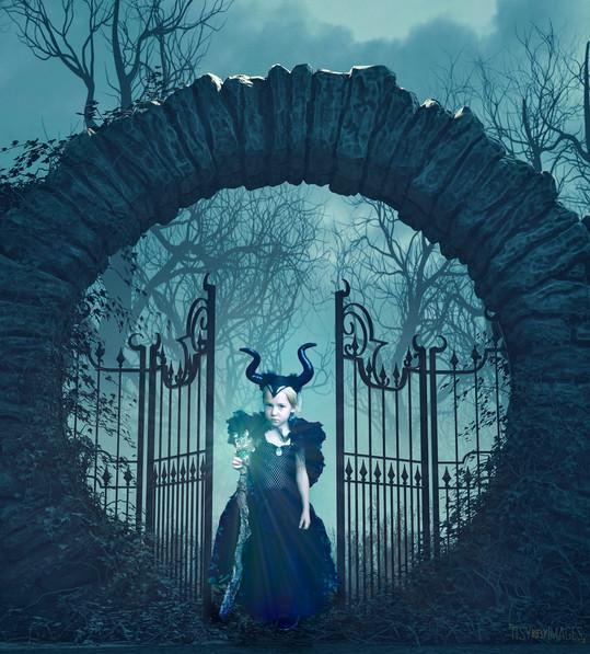 Maleficent Themed Photoshoot