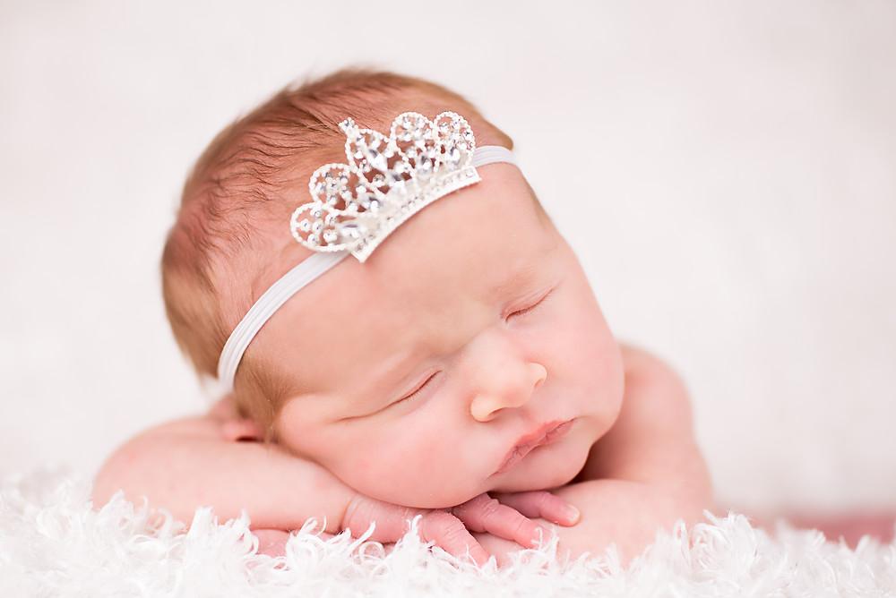 Gorgeous Newborn Photography in Overland Park studio