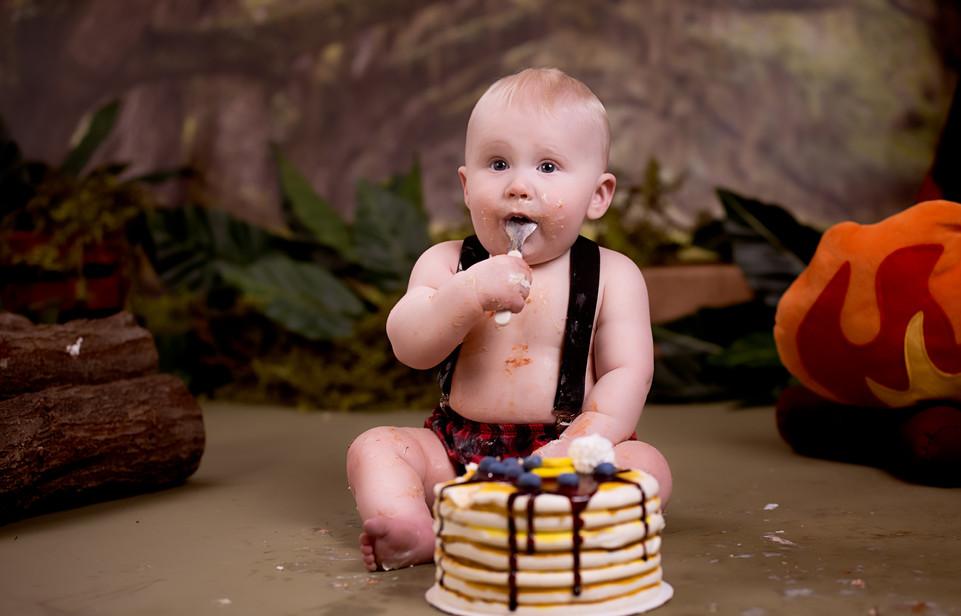 Lumberjack Pancake Cake Smash