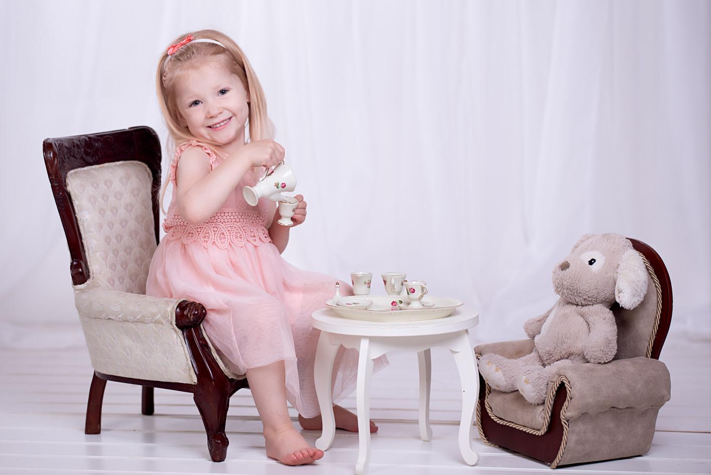 Tea Party with a Bear