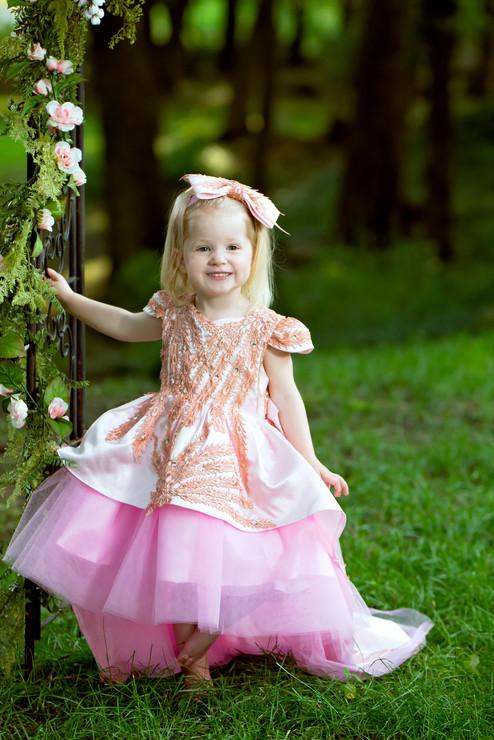 Children's Portrait in a full gown