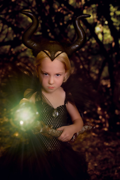 Maleficent Cosplay Photography