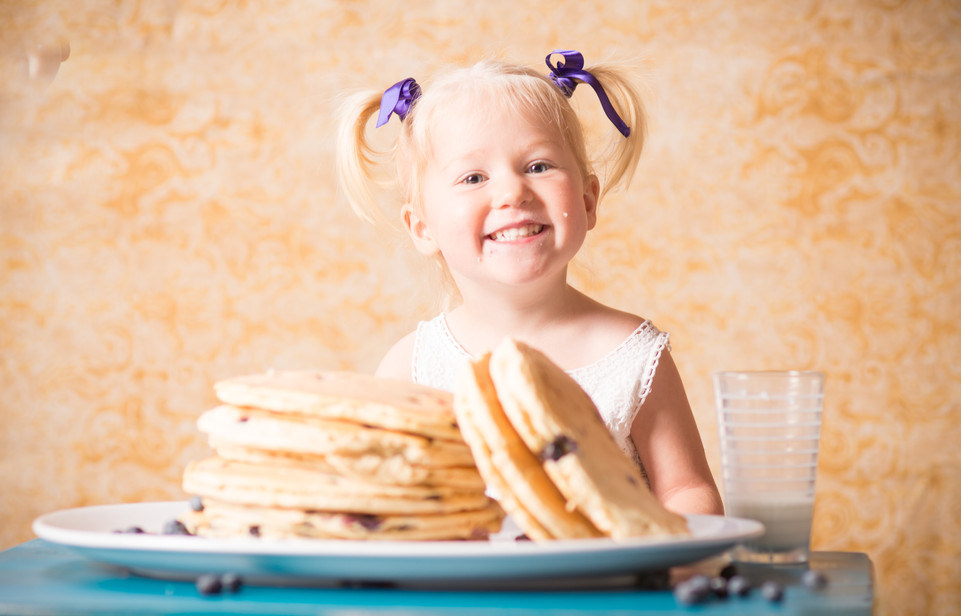 Breakfast Photography with Kids