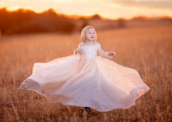 Long and beautiful dress