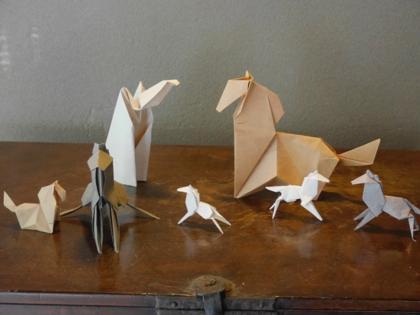 折り紙 続編 馬