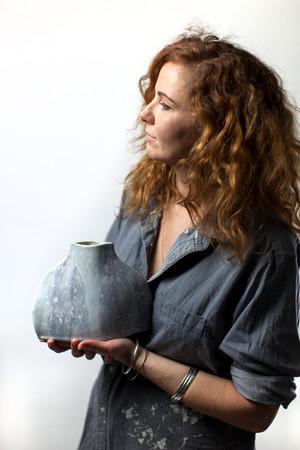 Lucia Fraser, artist and potter