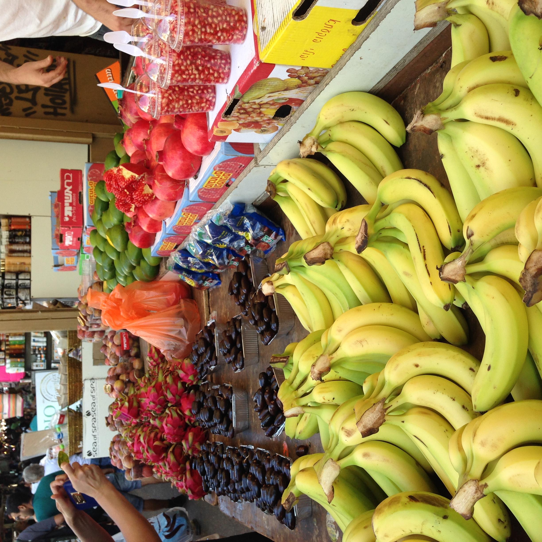 דוכן פרי בשוק